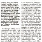 Dr. Friedemann Ruß im Badischen Tagblatt