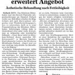 Dr. Friedemann Ruß in den Badischen Neuesten Nachrichten